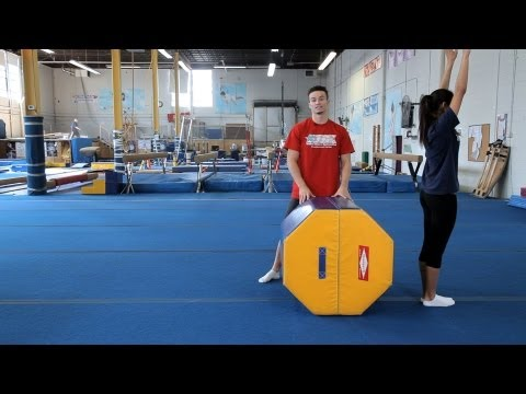 How to Do a Back Handspring | Gymnastics Lessons