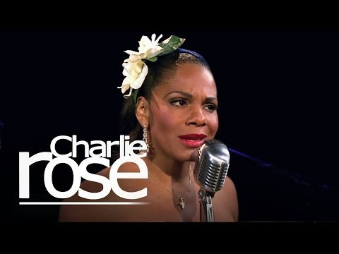 Audra McDonald Sings Billie Holiday   Charlie Rose