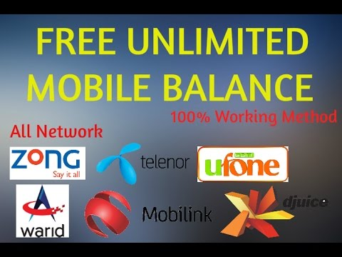 How to Recharge Mobile Balance for FREE! 100 % working- Free Mobile Recharge -2017 ✔