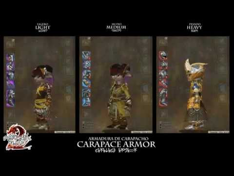 Guild Wars 2: Carapace Armor (Asura Female)