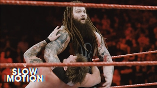 Eerie slow-motion video of Bray Wyatt