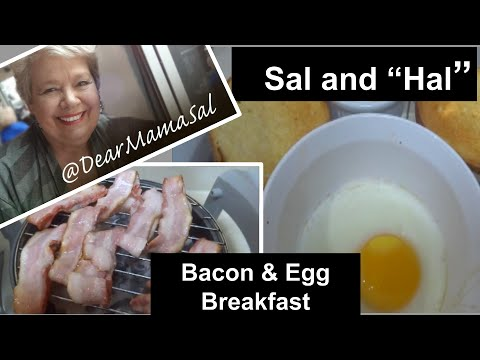 Bacon & Eggs - Halogen Oven - Sal and