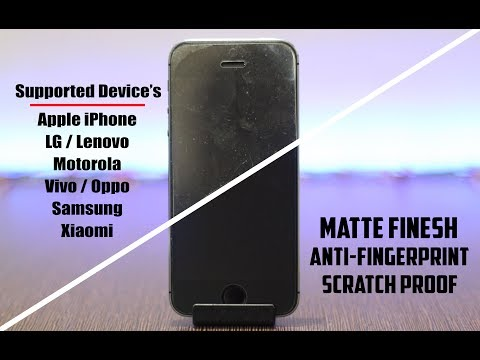 Matte/Anti Fingerprint Tempered Glass? 🔥