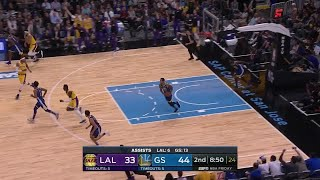 2nd Quarter, One Box Video: Golden State Warriors vs. Los Angeles Lakers