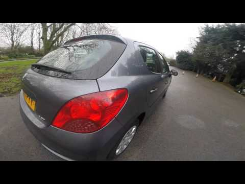 2007 Peugeot 207 S Grey 5 Door 1.4 Manual 5 Speed Great MPG