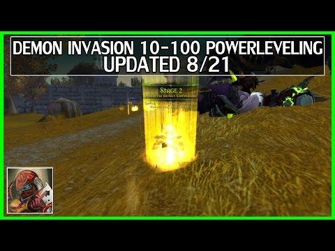 WoW Legion Demon Invasion 10-100 Powerleveling Guide - Updated 8/21