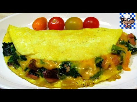 How To Make an Omelet - Western Omelette Recipe - Low Carb Series