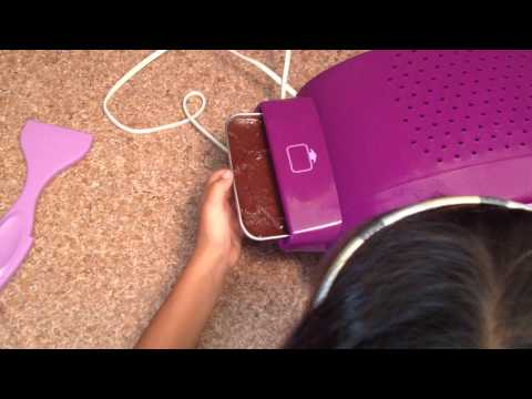 How to make Brownies in Easy Bake Oven
