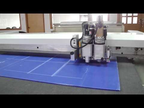 Plastic Board PP Corrugated Board Cutting Solution