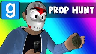 Gmod Prop Hunt Funny Moments - Trashing the Minecraft Kitchen (Garry