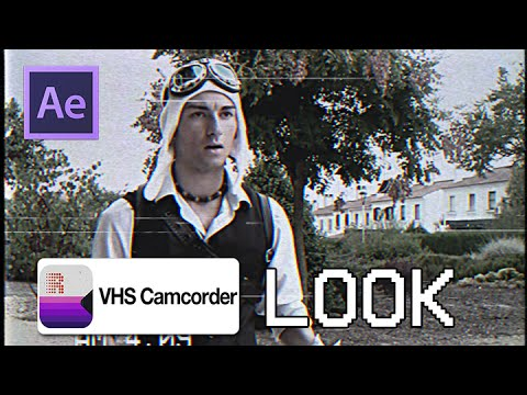 Vhs Camcorder Adobe After Effects / Vcr Camcorder E