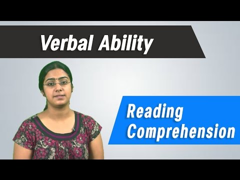 Best  GRE, GMAT, CAT ,IBPS, Competitive Exams Tips - Verbal Ability - Reading Comprehension