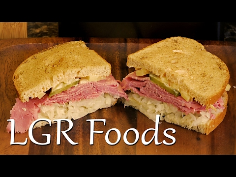 LGRwich №3 - The Lazy Flame-Toasted Reuben