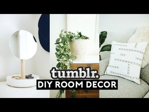 DIY ROOM DECOR! EASY + CHEAP (TUMBLR INSPIRED) 2018 | Nastazsa