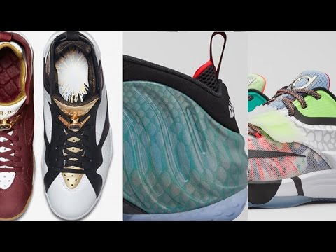 NIKE KD 7 What The, AIR JORDAN 11 GS, Gone Fishing FOAMPOSITE 1 and more on the Heat Check