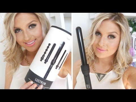 Hair Tutorial & Review ♡ My Fast Go-To Textured Waves Hair Style! NuMe Lustrum Set
