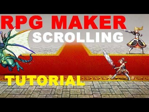 RPG Scrolling Tutorial - RPG game maker -