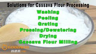cassava flour processing machine line - PakVim net HD Vdieos