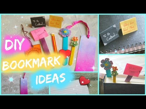 6 DIY Bookmark Ideas 📘