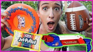 Testing Fun Outdoor Toys!!!!