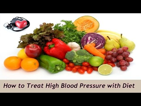 Treating High Blood Pressure With Diet