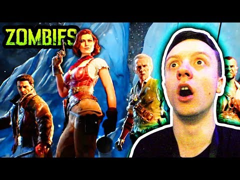 BLACK OPS 4 ZOMBIES: VOYAGE OF DESPAIR TRAILER FULL REACTION (TITANIC ZOMBIES)