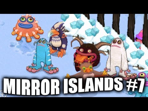 My Singing Monsters - Mirror Island Gameplay #7 - Lunar Cold Island Rares?