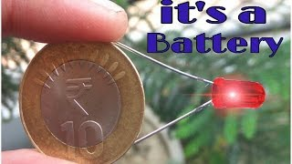 How to make a battery using coin