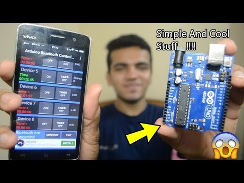 [HINDI] Control Your Room Lights With Your Mobile | Make Your Home