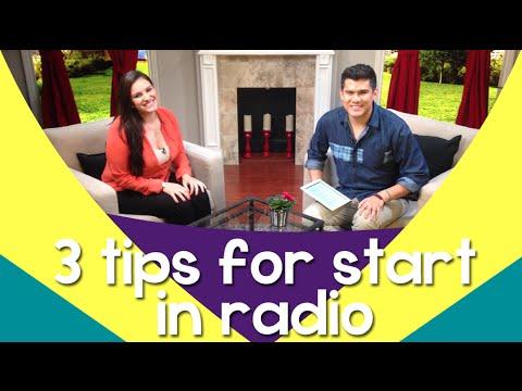 Radio Broadcasting: Tips on how to break into the radio industry – JessicaDominguezTV