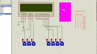Arduino to 16*2 LCD Display Proteus - Arduino Proteus Simulation