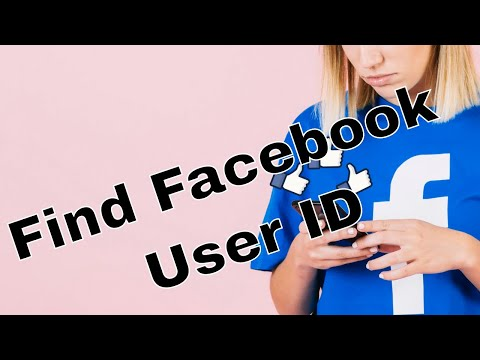 How to find Facebook User ID - updated version