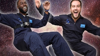 People Experience Zero Gravity For The First Time