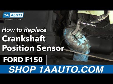 How to Replace Install Crankshaft Position Sensor 97-99 Ford F150