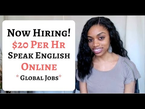 *HOT JOBS* Make $20 Per Hour To Speak And Teach English Online!