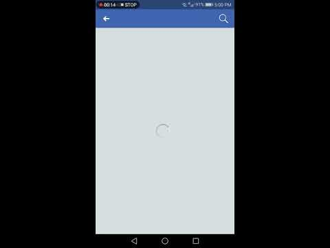 How to Deactivate your facebook account on Android mobile phone