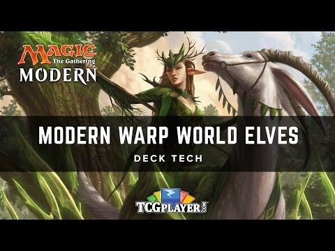 [MTG] Modern Warp World Elves | Deck Tech