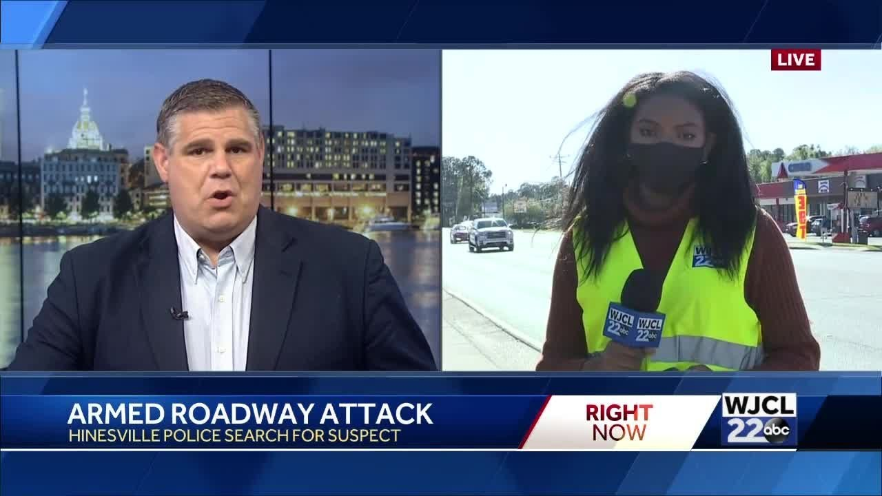 Roadway attack in Hinesville