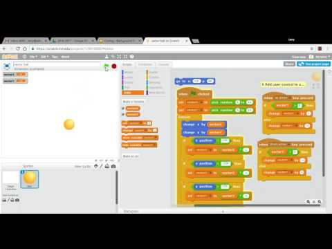 Make a Bouncing Ball in Scratch - Episode 4 - Adding User Control