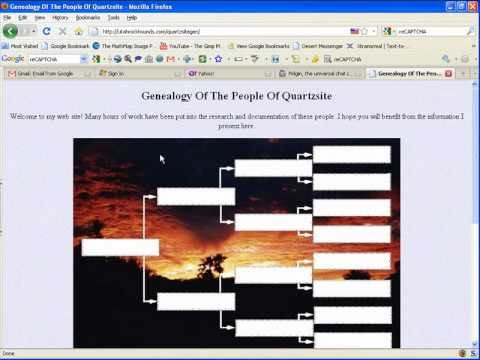 Create A Free Genealogy Website Part 2: Add & Hide Your Email Address