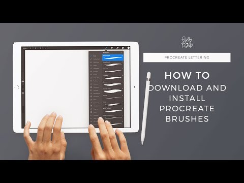 How to Download and Install Procreate Brushes Multiple Ways V 4