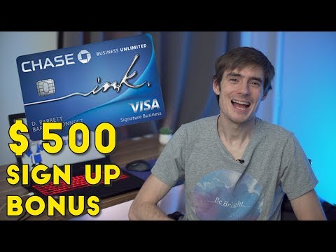 Chase Releases New INK UNLIMITED CARD with $500 BONUS