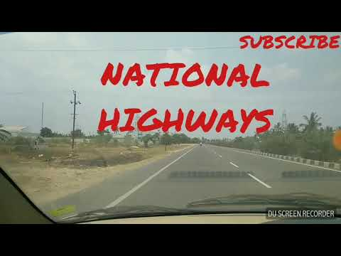 Driving in National Highways tips - Tamil