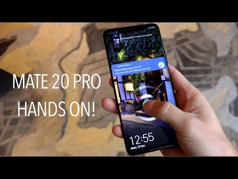 Huawei Mate 20 Pro Hands On And Impressions!