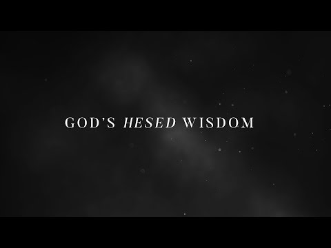 Joseph Prince - Hesed Wisdom - Theme Of The Year 2018 Trailer