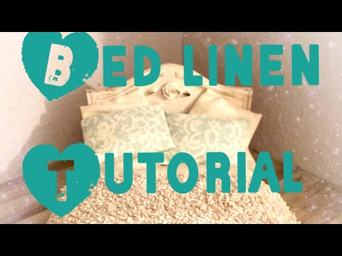 Miniature tutorial: how to make realistic bed linen