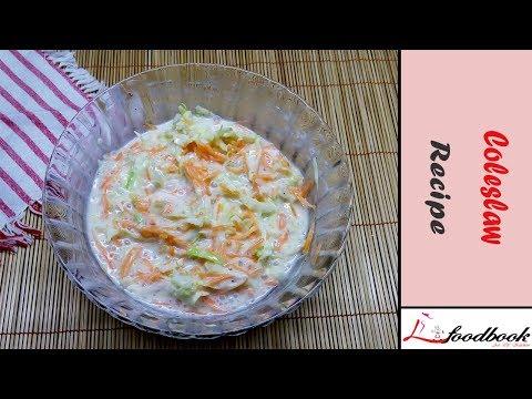 KFC/ BFC Style Coleslaw Recipe    How To Make Coleslaw    Coleslaw Recipe Bangla