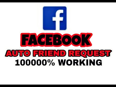 How To Get Auto Friend Request on Facebook ( June