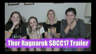 Thor Ragnarok SDCC17 Trailer