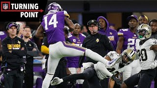 """Keenum to Diggs Provides the """"Miracle in Minneapolis"""" (NFC Divisional Round) 